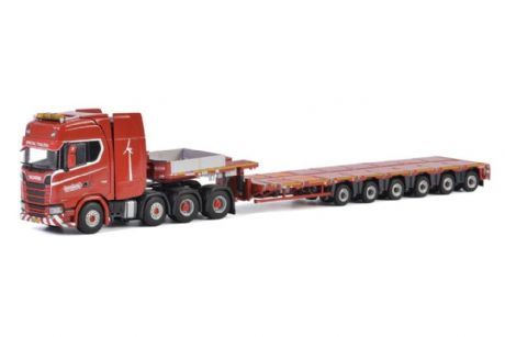 WSI Nooteboom Redline Series MCO-PX 6 axle with Scania New Generation 8X4